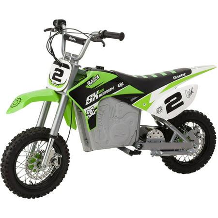 Razor Dirt Rocket SX500 McGrath Electric Powered Ride On Dirt Bike Husqvarna Dirt Bike