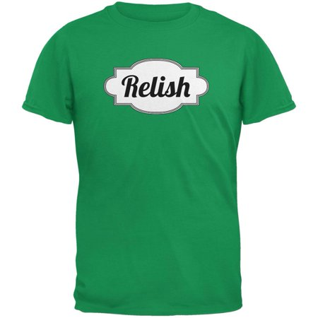 Halloween Relish Costume Irish Green Adult T-Shirt (Irish Resources For Halloween)