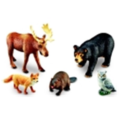 Forest Animal Set (Learning Resources Jumbo Forest Animals Set)