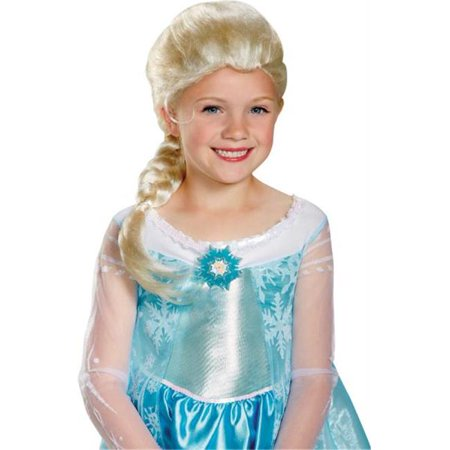 Morris Costumes DG79354 Frozen S Elsa Wig Child