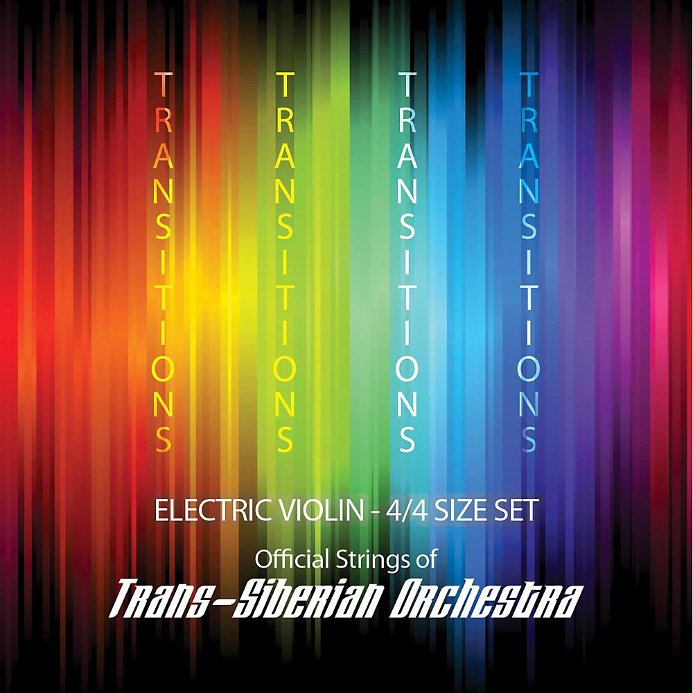 Super Sensitive Transitions Electric Violin Strings D String D 4 4 Silver by Super Sensitive