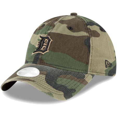 Detroit Tigers New Era Women's Core Classic Twill 9TWENTY Adjustable Hat - Camo - OSFA