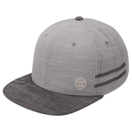 Filigree Hat Pin (Hurley Men's Work Pin Snapback Hat Cap - Light Pumice )