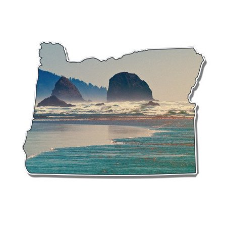 Oregon Coast Pacific Northwest I Love Oregon - Vinyl Sticker Waterproof Decal Sticker 5