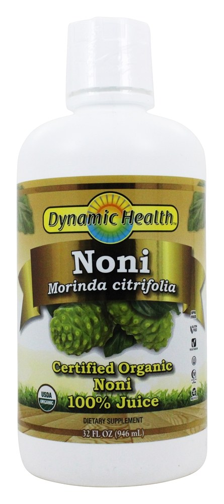 Dynamic Health Organic Noni Juice From Tahiti Morinda Citrifolia, 32 Oz by Generic
