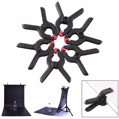 6pcs Photo Studio Clips Spring Clamps for Photography Backdrop Background Stand Clips, Backdrop Clamps, Background Stand Clips - Halloween Clip Art Backgrounds