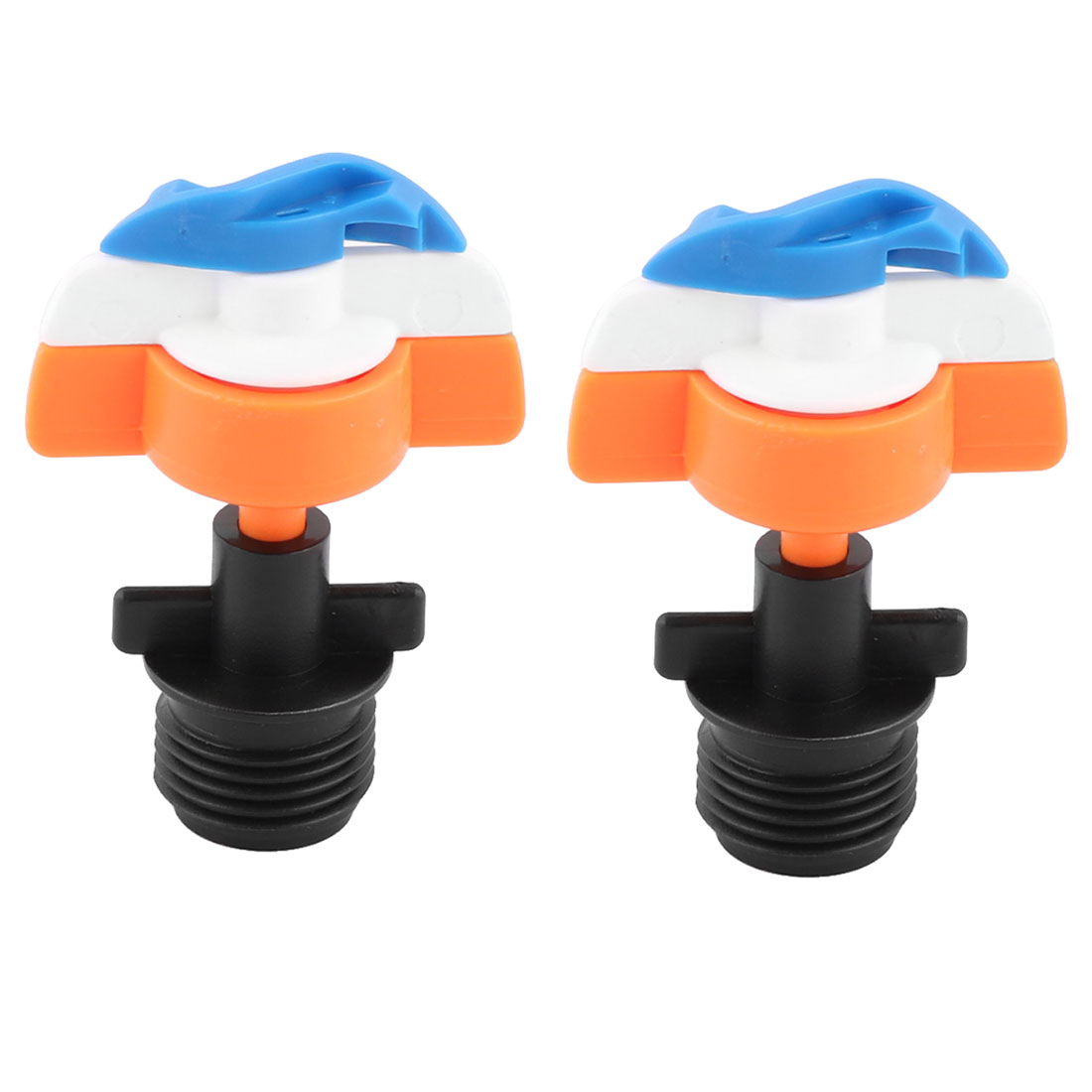 Home Irrigation Accessory Plastic Plant Flower Watering Sprinkler Nozzle 2pcs