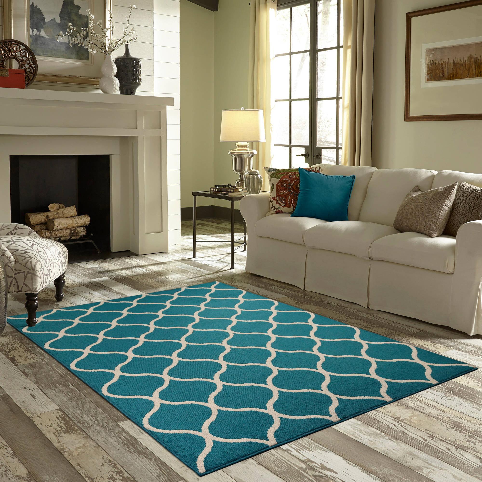 Area Rugs mainstays sheridan area rug or runner - walmart
