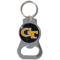 Georgia Tech Bottle Opener Key Chain (F)