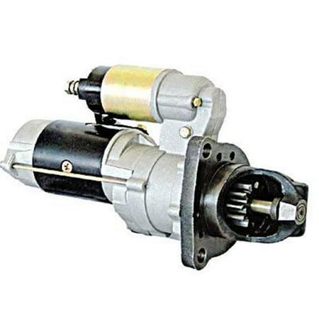 New Starter Motor Fits Komatsu Crawler Dozer D85e55 2 D65ex 12 6008136632 02 23 2045