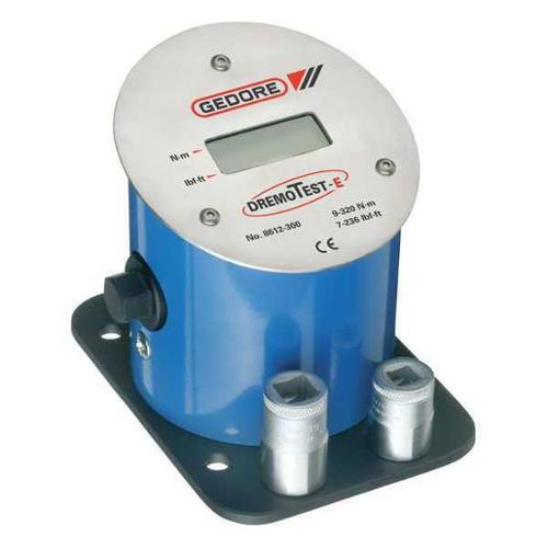 GEDORE 8612-300 Electronic Torque Tester,9-320 Nm G1886599