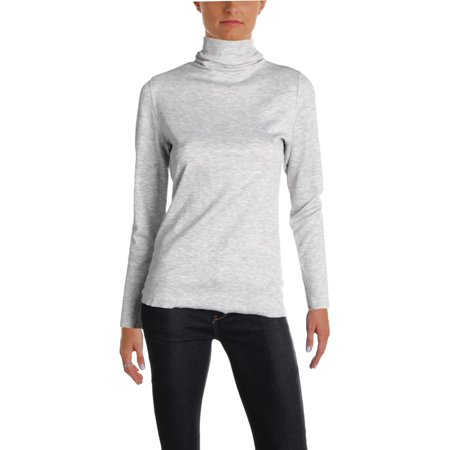 Michelle Mason Blouse - Michelle by Comune Womens Raw Hem Long Sleeves Turtleneck Top
