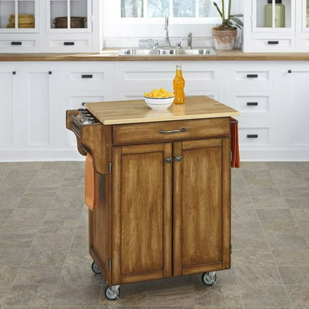 Home Styles 9001 00 Small Kitchen Cabinet Cart