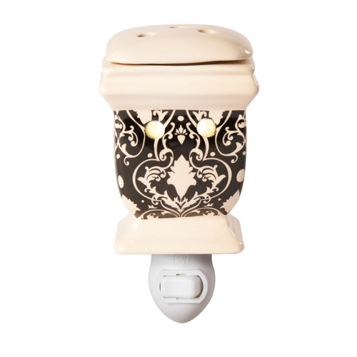 Better Homes and Gardens Plug-In Warmer, Damask