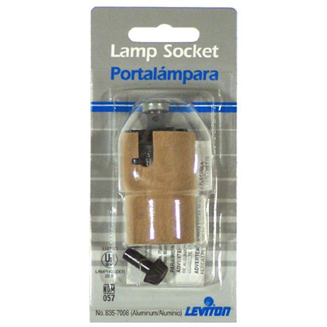 Leviton Mfg 005-07098-000 Three-Way Lamp Socket