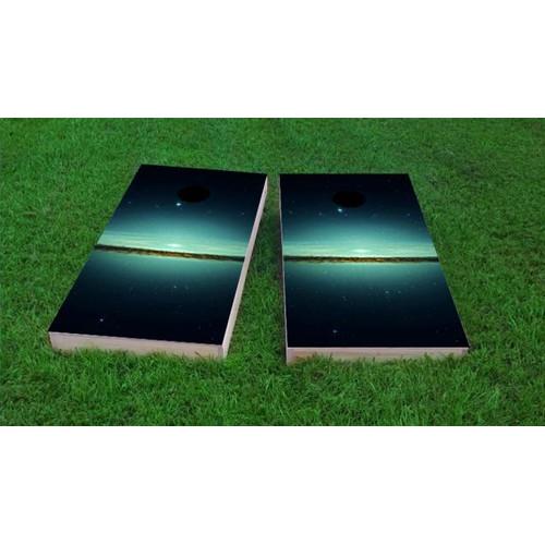 Custom Cornhole Boards Galaxy Cornhole Game (Set of 2) by Custom Cornhole Boards