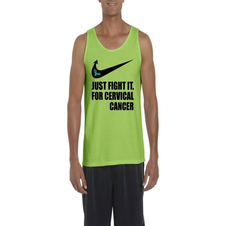32fe604add4f2 Normal is Boring - Cervical Cancer Just Fight It Men Ultra Cotton Tank Top  - Walmart.com