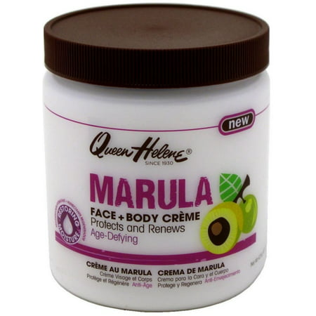 - QUEEN HELENE Marula Creme Face & Body, 15 oz