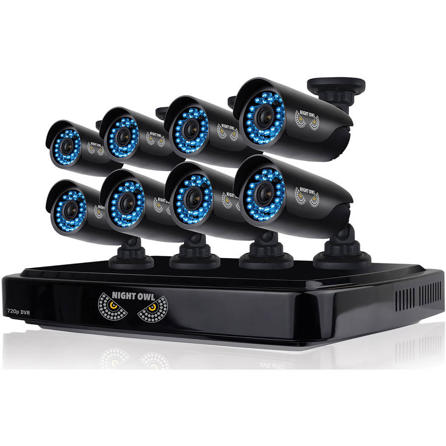 Night Owl CL-882-720P 8-Channel Smart HD Video Security System with 2TB HDD and Eight 720p HD Cameras
