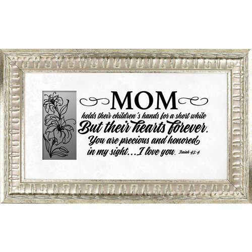 The James Lawrence Company Mom Framed Textual Art Walmart Com Walmart Com