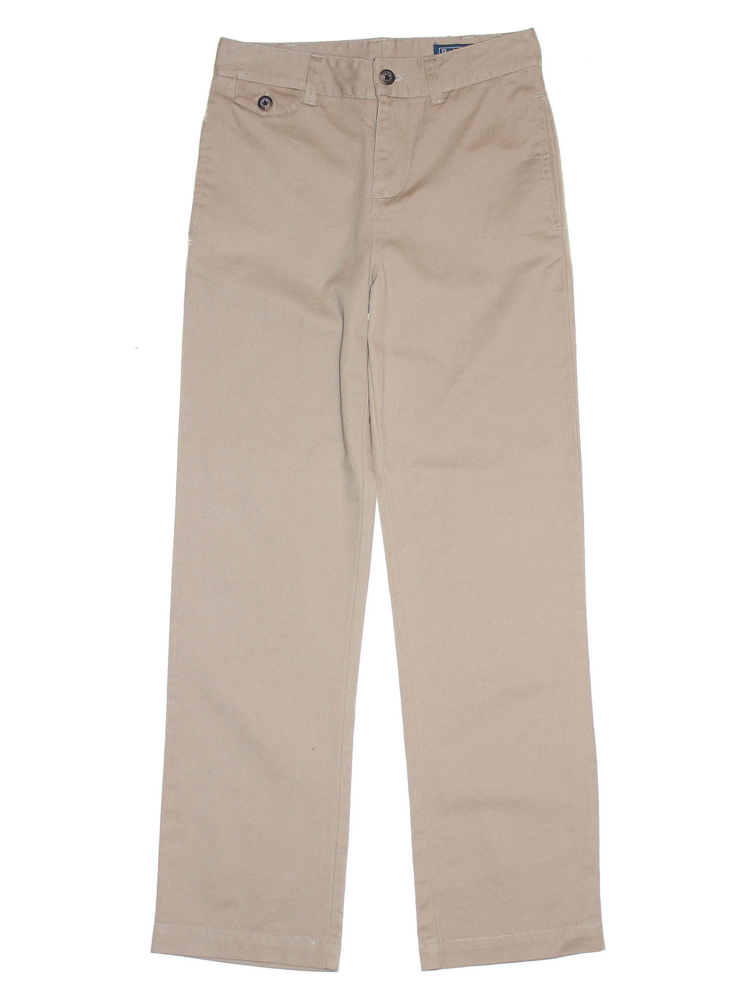 Ralph Lauren Junior Twill Straight Leg Pants 10 Beige