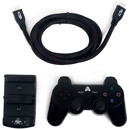 Arsenal Gaming PS3 High Definition Kit, Black