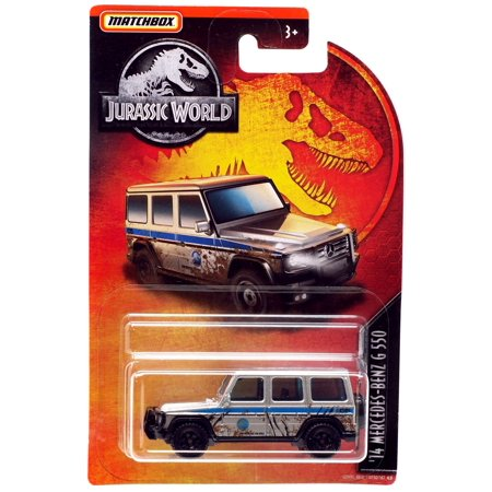 Jurassic World Matchbox '14 Mercedes-Benz G 550 Diecast Car [Muddy]