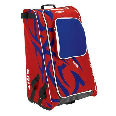 "Grit Inc HTFX Hockey Tower 33"" Wheeled Equipment Bag Red HTFX033-MO (Montreal)"