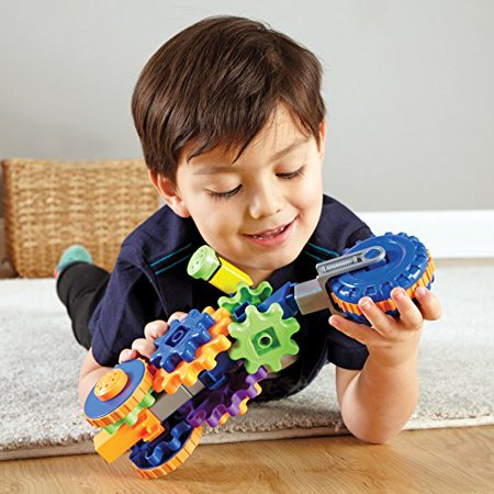 Learning Resources Gears! Gears! Gears! Cycle Gears, Construction, Gear Toy, 30 Pieces, Ages 4+ - image 4 of 4