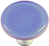 Round Knob in Light Sky Blue (Aluminum)