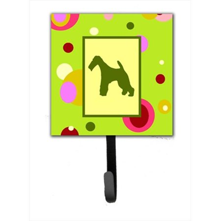 Carolines Treasures CK1067SH4 4.25 x 6 in. Fox Terrier Leash Or Key Hook - image 1 of 1
