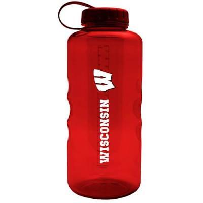 All Star Sports Wisconsin Badgers 66 oz Large Plastic Water -