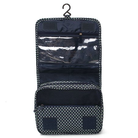 8598f28c04e8 Portable Hanging Toiletry Bag  Portable Travel Organizer Carry Tote Cosmetic  Bag for Women Makeup or Men Shaving Kit with Hanging Hook for vacation ...