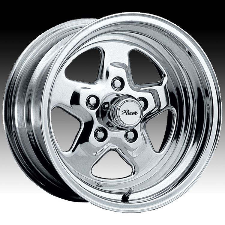 Pacer 521P Dragstar Polished 15x7 5x4.75 0mm (521P-5761)