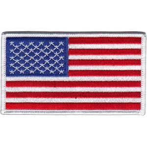 US FLAG, Officially Licensed, Iron-On / Sew-On, Embroidered PATCH - 2.25