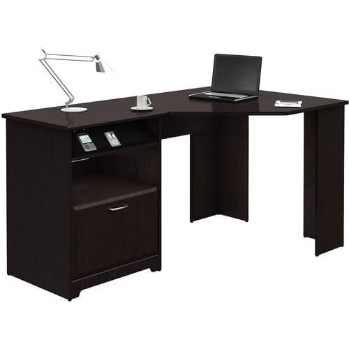 Bush Furniture Cabot Collection Corner Desk, Multiple Finishes