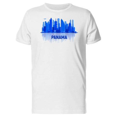 Parma City Halloween (Blue Silhouette Of Panama City Tee Men's -Image by)