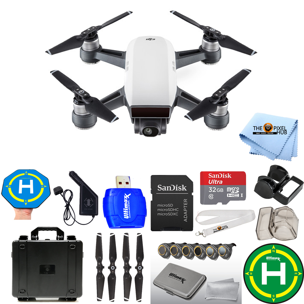 UNASSIGNED DJI Spark Quadcopter EXTREME BUNDLE WITH WATER...