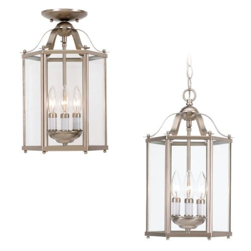 Sea Gull Lighting 5231 Bretton 3 Light Lantern Pendant