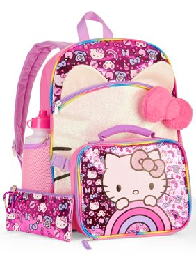 0c298f41e Product Image Hello Kitty 5-Piece Backpack Set With Lunch Bag