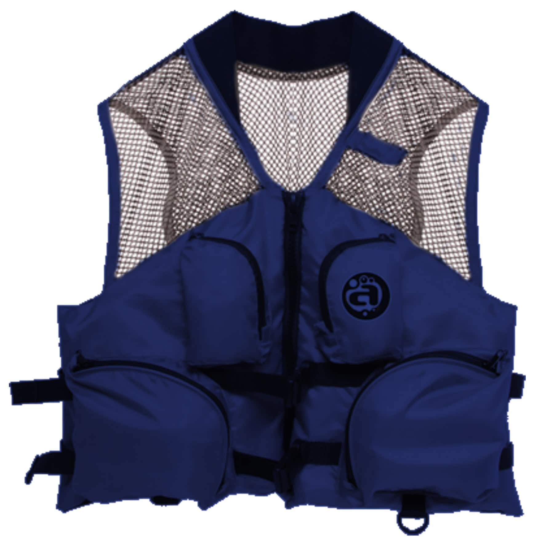 Airhead Blue Nylon Small Medium Deluxe Mesh Top Fishing Vest by Overstock