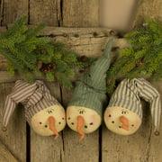 Snow E. Daze Snowman Ornament Set