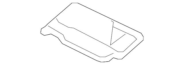Pillar Garnish Assembly Genuine Honda 84131-T2A-A01ZA