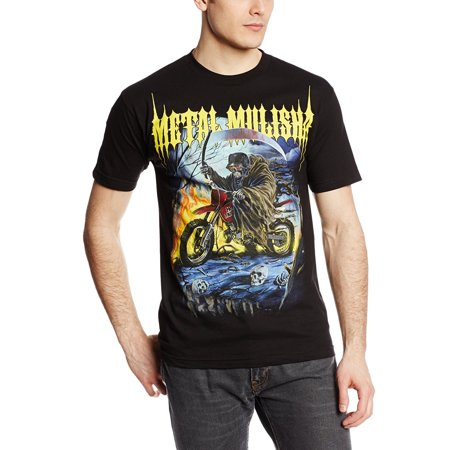 METAL MULISHA Biker Bike Grim Reaper T-Shirt S