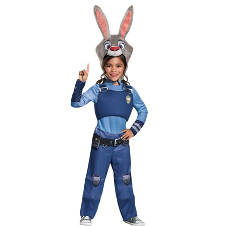 Morris Costumes DG99841L Zootopia Judy Hopps Child Costume, Size 4-6 for $<!---->