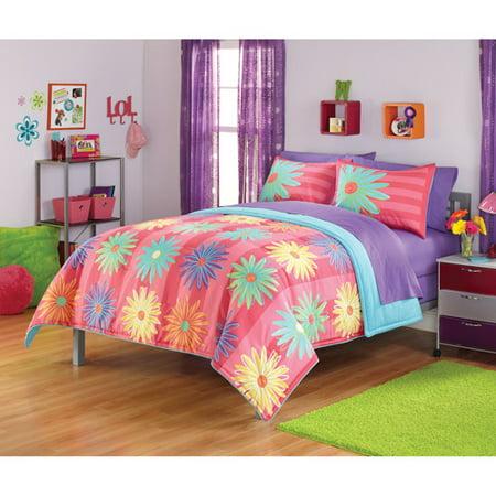 Http Www Walmart Com Ip Your Zone Popalicious Stripe Bedding Comforter Set 19582546