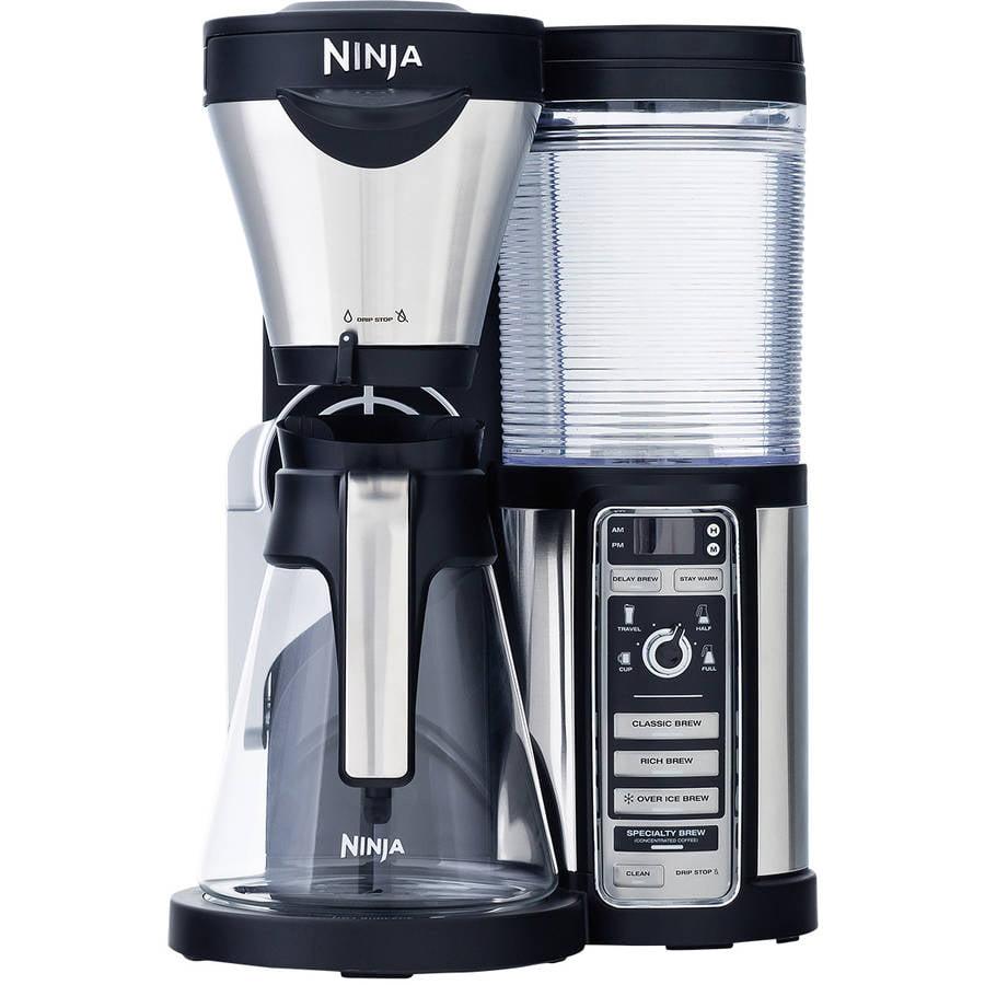 Ninja Coffee Bar Auto-iQ Brewer with Glass Carafe, CF080