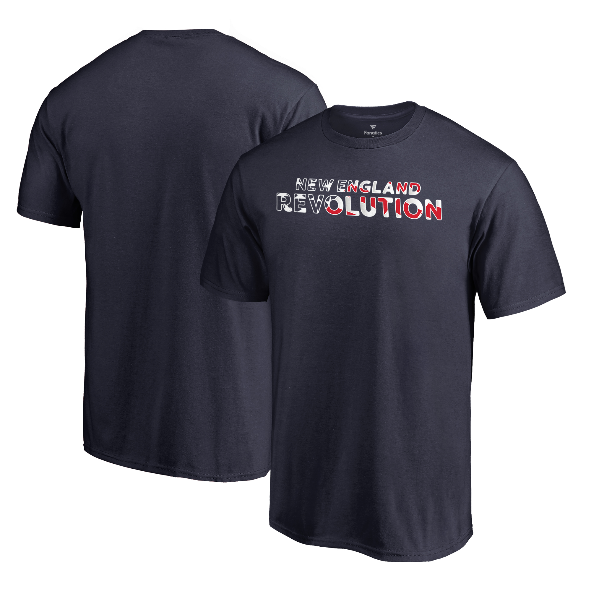 New England Revolution Fanatics Branded Club and Country T-Shirt - Navy