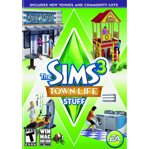 Sims 3: Town Life Stuff (PC/ Mac)