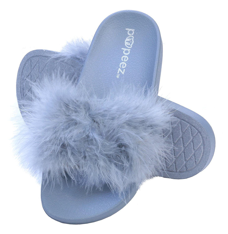 Pupeez Girls Flip Flop Slide Sandals